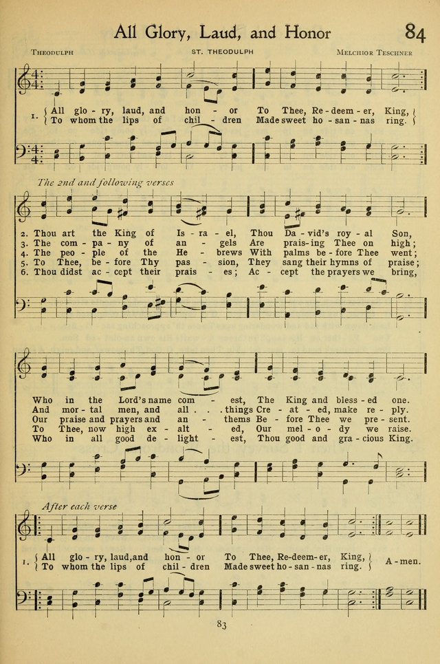 The Methodist Sunday School Hymnal page 96