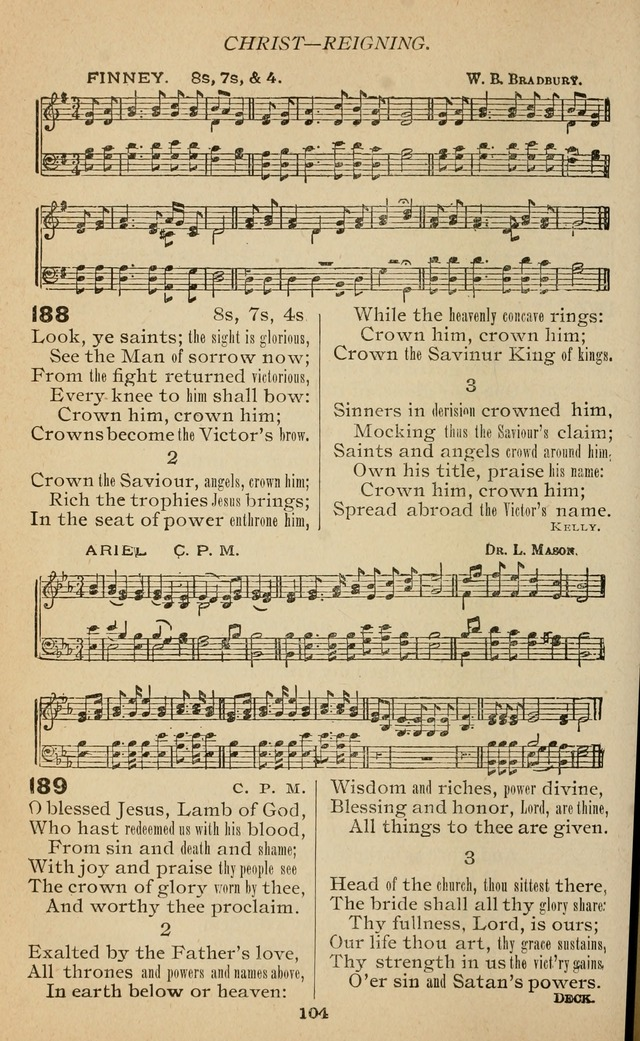 The National Baptist Hymnal: arranged for use in churches, Sunday schools, and young people
