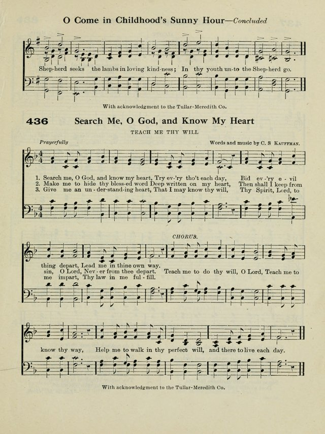 The New Canadian Hymnal: a collection of hymns and music for