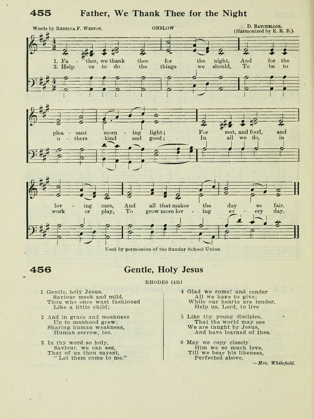 The New Canadian Hymnal: a collection of hymns and music for Sunday schools, young people