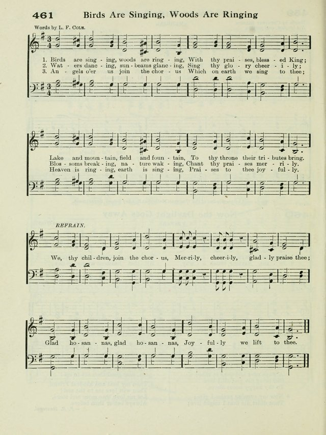 Birds are singing, woods are ringing | Hymnary org