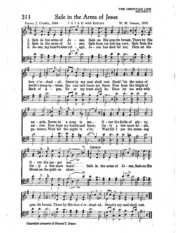 The New Christian Hymnal page 269