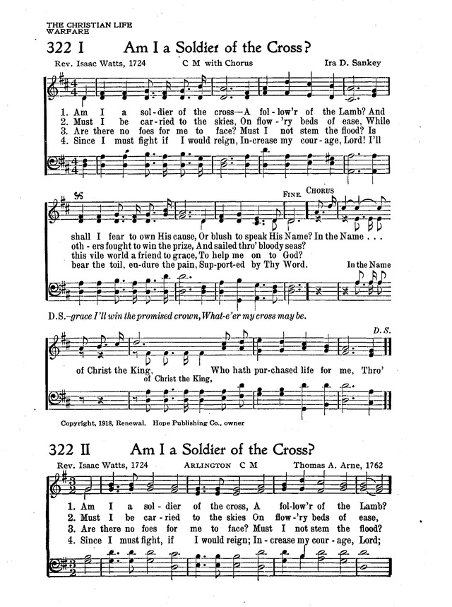 The New Christian Hymnal page 278