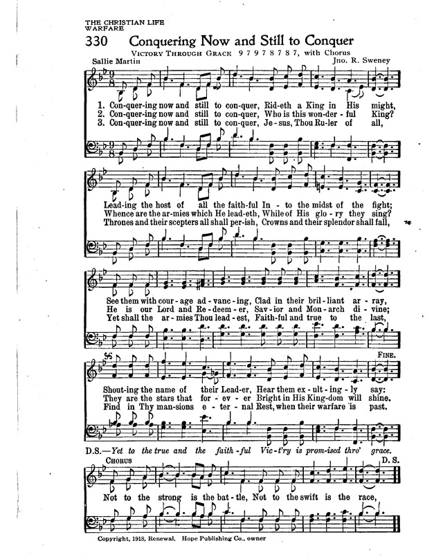 The New Christian Hymnal page 286