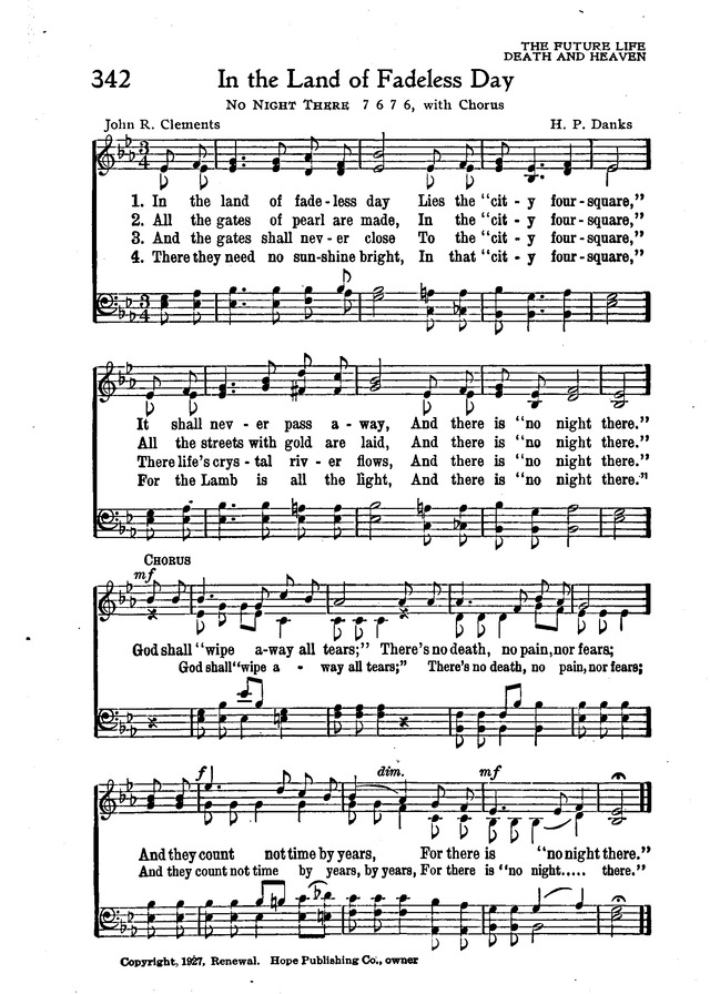 The New Christian Hymnal page 297