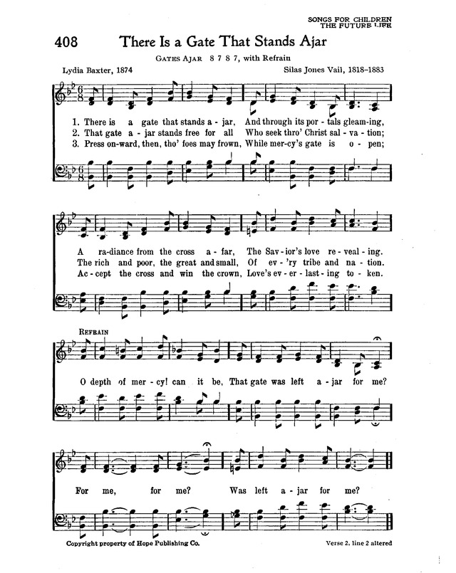 The New Christian Hymnal page 357