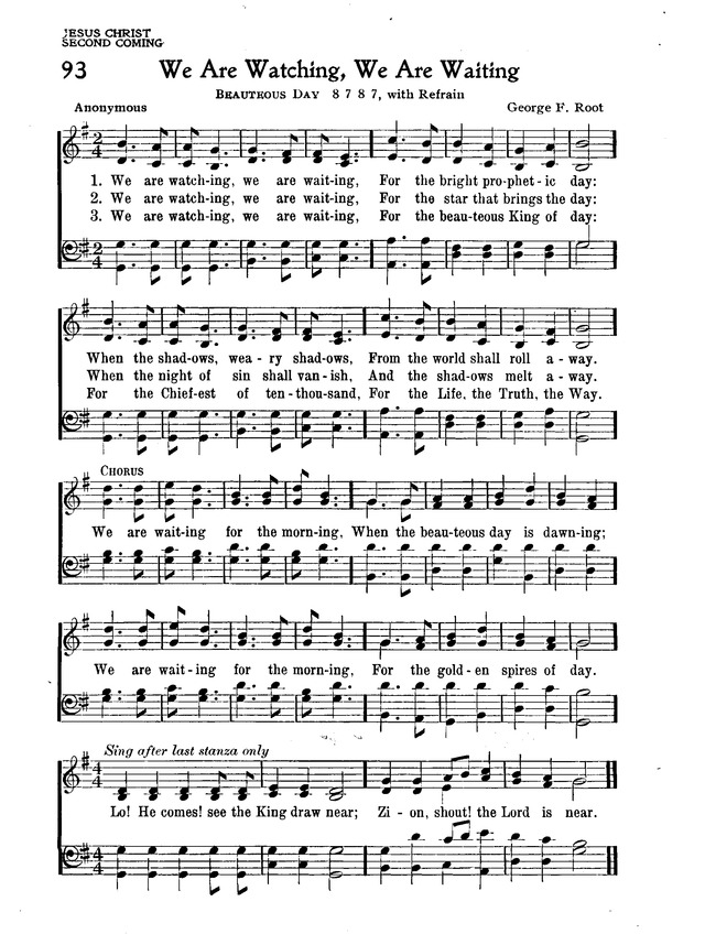 The New Christian Hymnal page 84