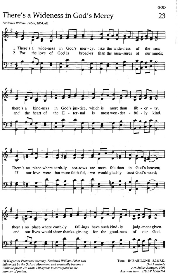 The New Century Hymnal page 102