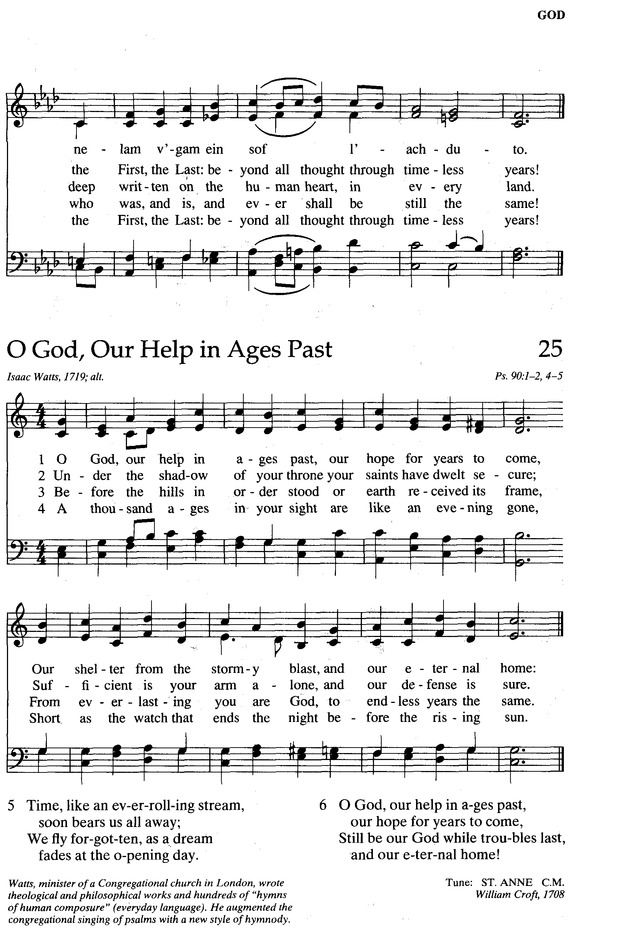 The New Century Hymnal page 104