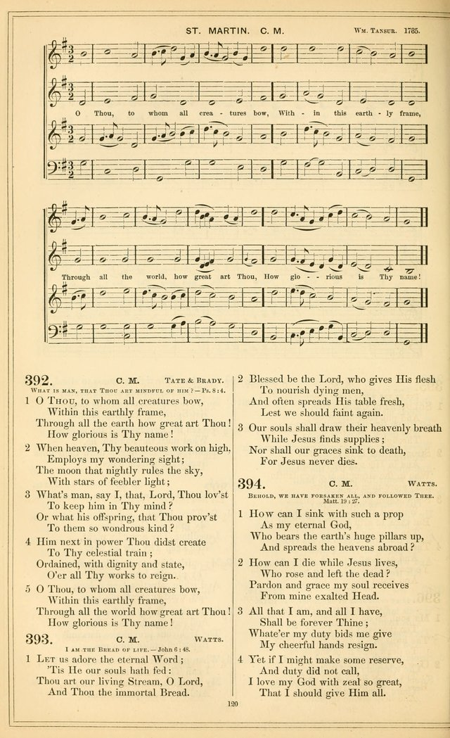 The New Congregational Hymn and Tune Book, for Public, Social and Private  Worship page 135