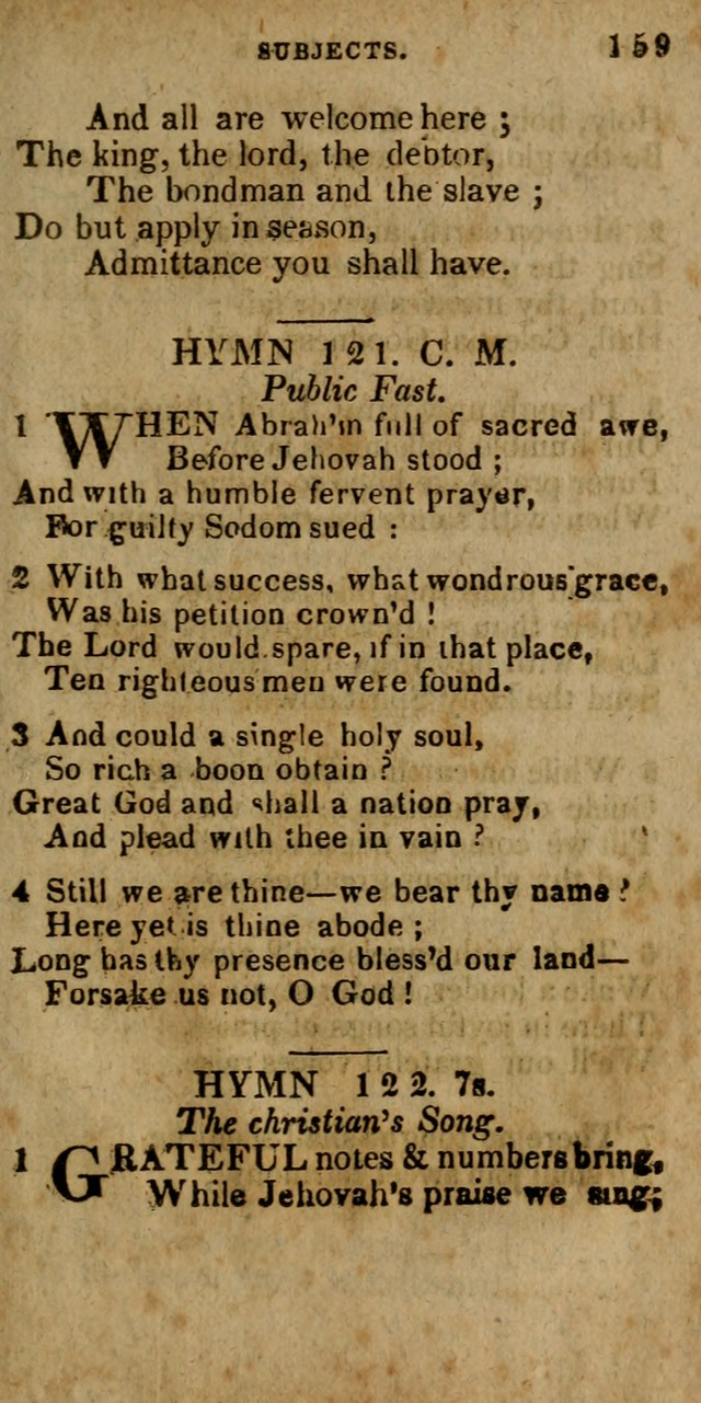 The New England Collection of Hymns and Spiritual Songs: adapted to prayer, conference and camp-meetings page 165