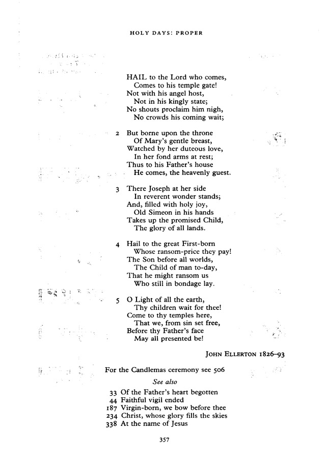 The New English Hymnal page 357