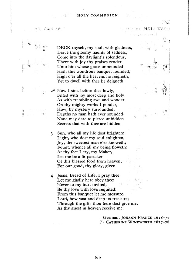 The New English Hymnal page 620