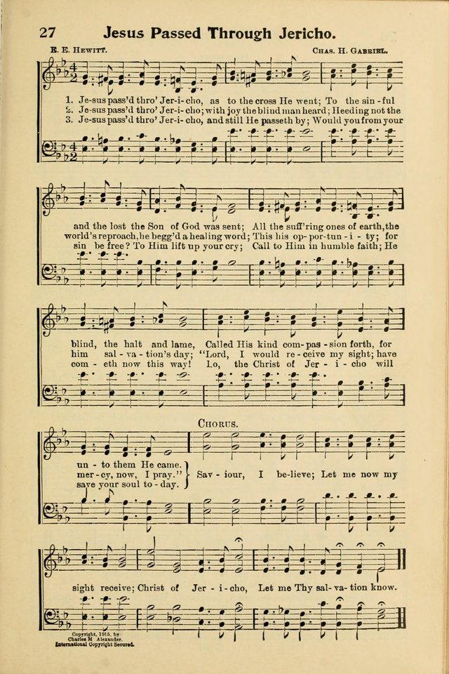 Northfield Hymnal No. 3 page 24