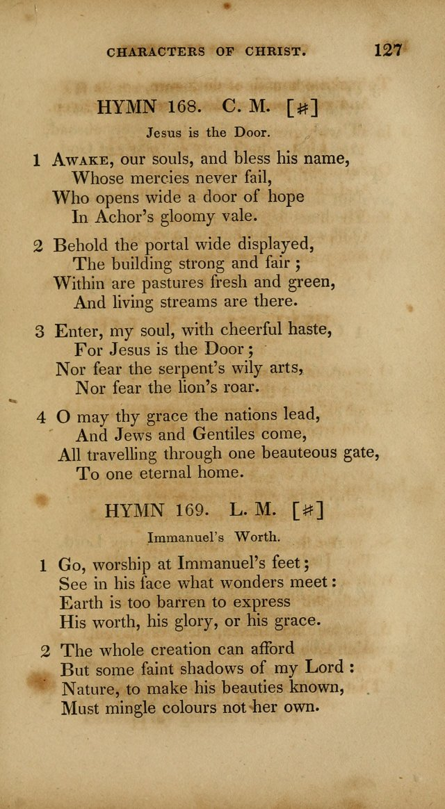 The New Hymn Book, Designed for Universalist Societies: compiled from approved authors, with variations and additions. Second Ed. page 138
