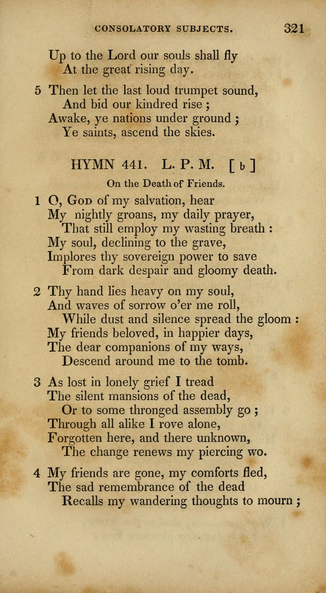 The New Hymn Book, Designed for Universalist Societies: compiled from approved authors, with variations and additions. Second Ed. page 332