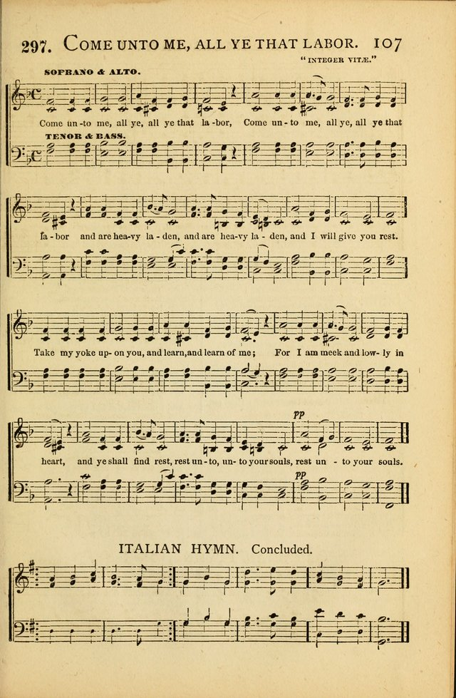 National Hymn and Tune Book: for congregations, schools and the home page 107