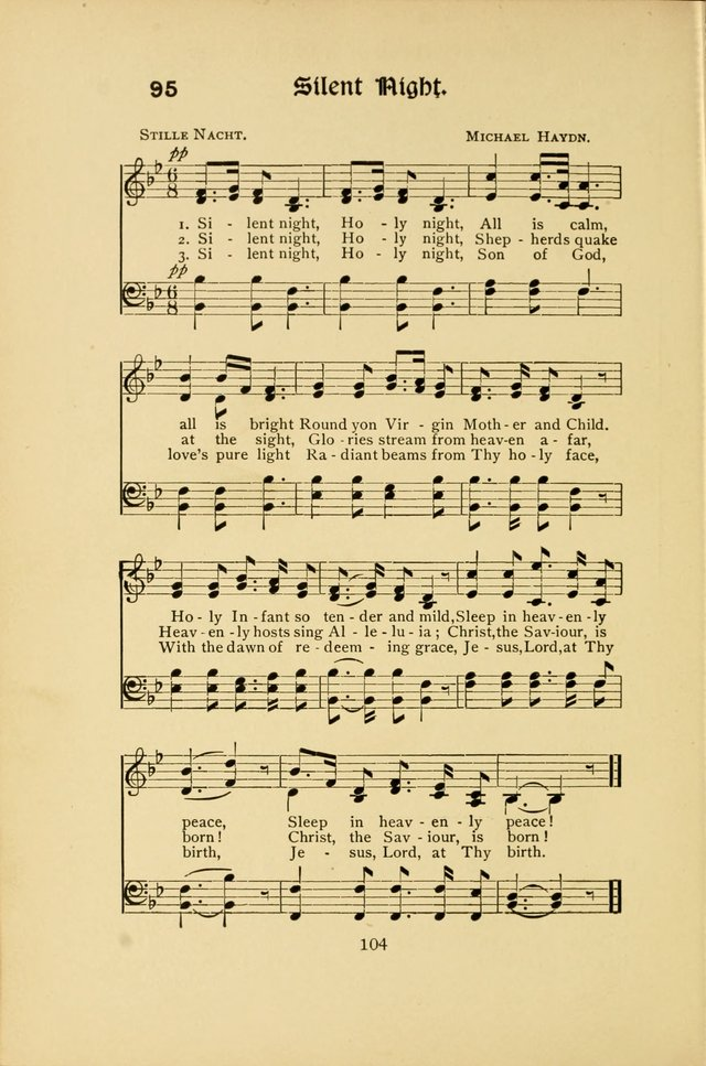 Northfield Hymns for Young People page 104