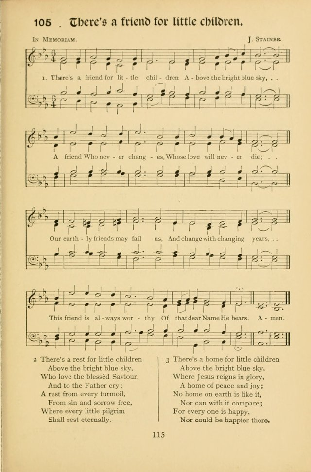 Northfield Hymns for Young People page 115