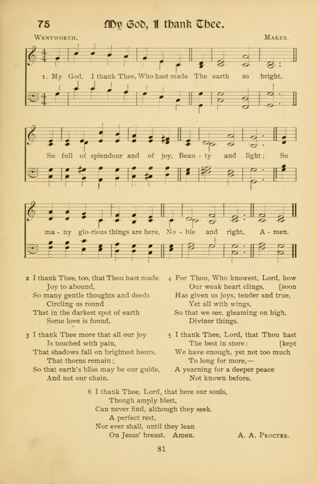 Northfield Hymns for Young People page 81