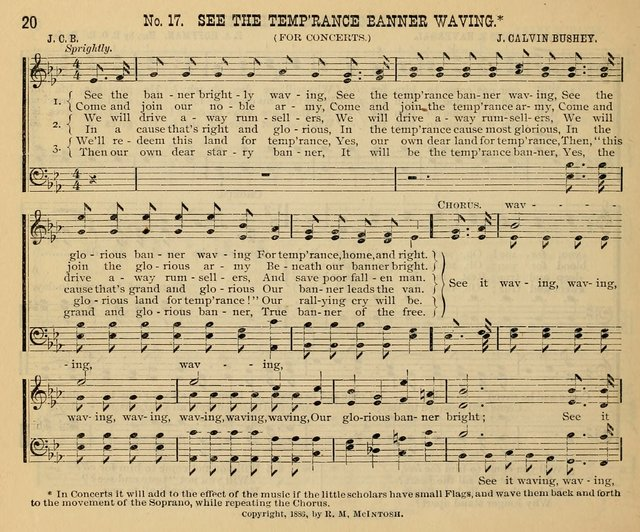 New Life No. 2: songs and tunes for Sunday schools, prayer meetings, and revival occasions page 20
