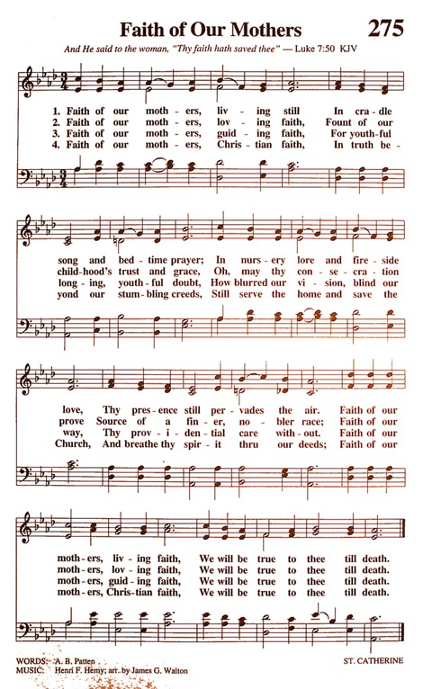 The New National Baptist Hymnal (21st Century Edition) page 317