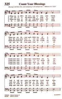 Count Your Blessings | Hymnary org