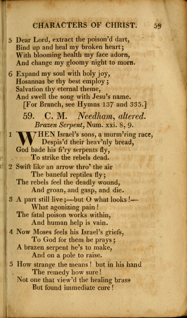 A New Selection of Nearly Eight Hundred Evangelical Hymns, from More than  200 Authors in England, Scotland, Ireland, & America, including a great number of originals, alphabetically arranged page 98