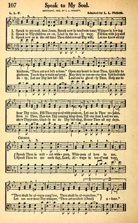 speak to me jesus hymnary org