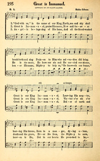 God with us, is the name of our King | Hymnary.org