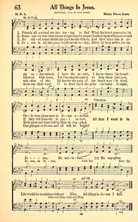 All Things In Jesus Hymnary