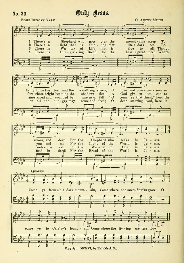 New Songs of the Gospel No. 3: for use in religious meetings page 26