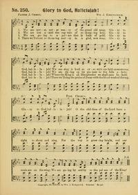 Glory to God, Hallelujah | Hymnary.org