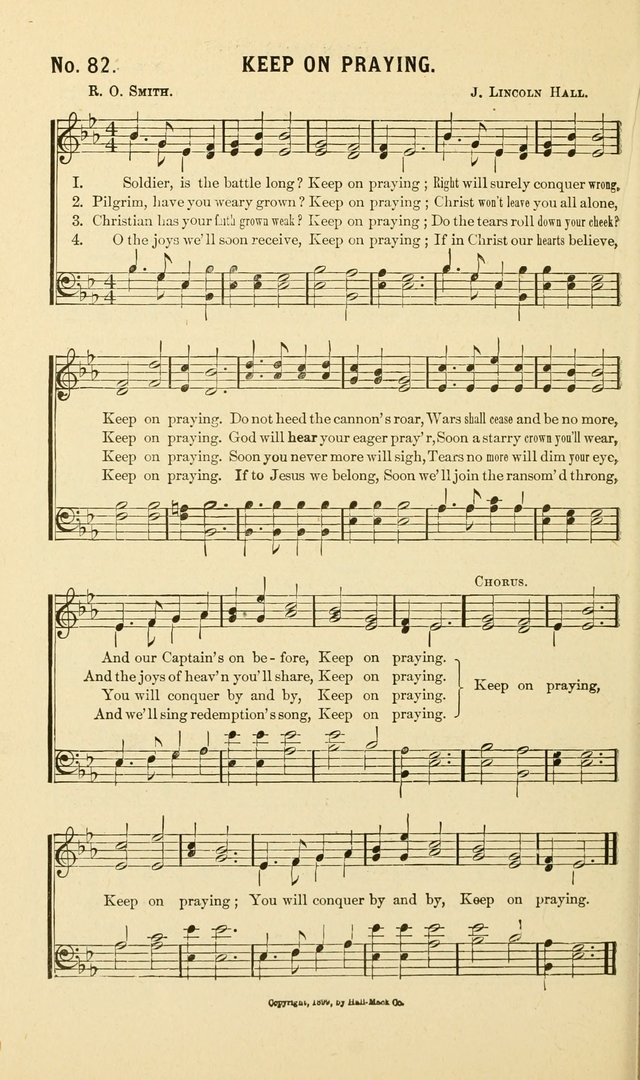 New Songs of the Gospel: for use in all religious meetings page 82