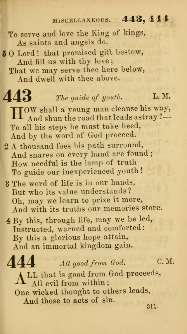 New Union Hymns page 313