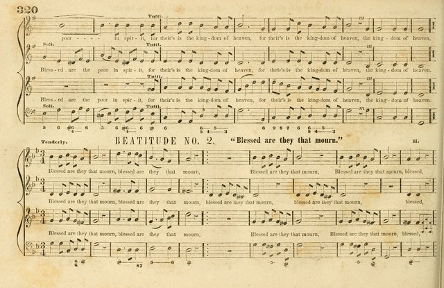 The New York Choralist: a new and copious collection of Psalm and hymn tunes adapted to all the various metres in general use with a large variety of anthems and set pieces page 320