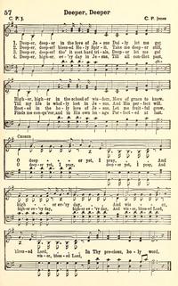 Deeper Deeper In The Love Of Jesus Hymnary
