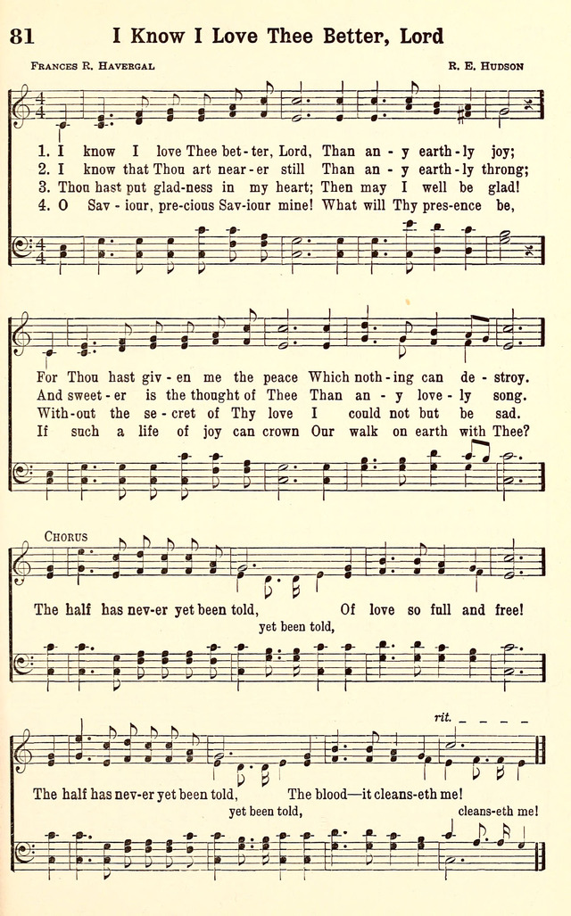 The Half Has Never Yet Been Told | Hymnary.org