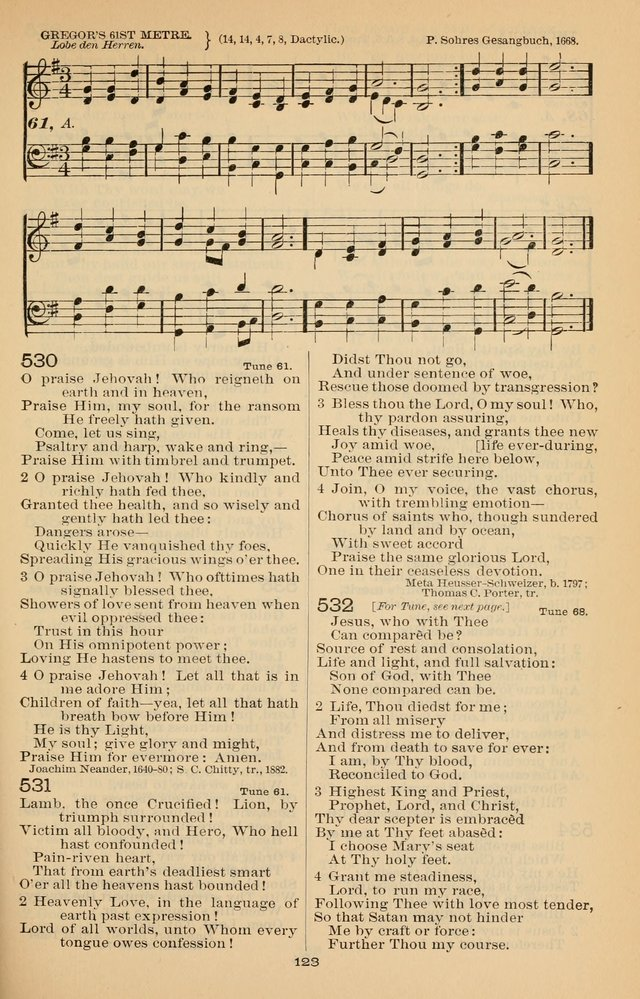 Offices of Worship and Hymns: with tunes, 3rd ed., revised and enlarged page 196