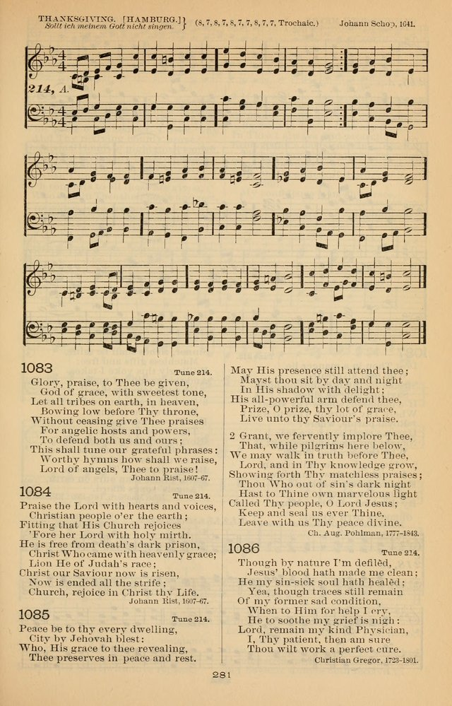 Offices of Worship and Hymns: with tunes, 3rd ed., revised and enlarged page 354