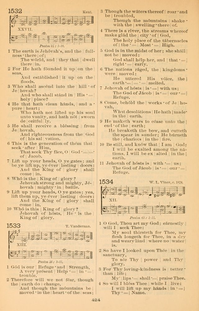 Offices of Worship and Hymns: with tunes, 3rd ed., revised and enlarged page 497