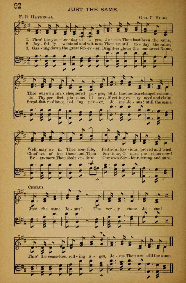 All Music Chords one sweet day sheet music : Just the Same - Hymnary.org