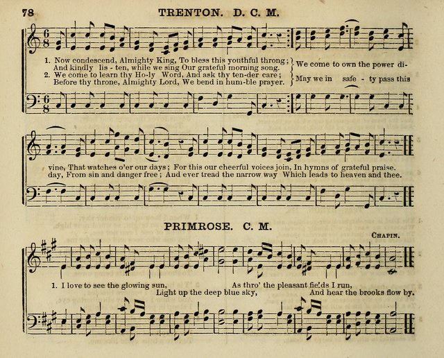 The Polyphonic; or Juvenile Choralist; containing a great variety of music and hymns, both new & old, designed for schools and youth page 77