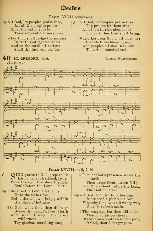 The Presbyterian Book of Praise: approved and commended by the General Assembly of the Presbyterian Church in Canada; With tunes; Part I. Selections from the Psalter. Part II. The Hymnal, rev, and en. page 47