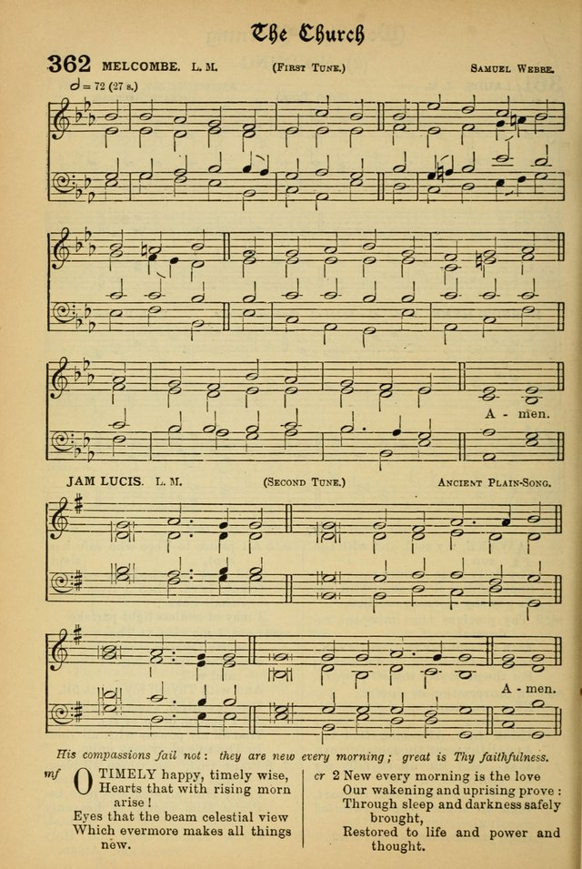 The Presbyterian Book of Praise: approved and commended by the General Assembly of the Presbyterian Church in Canada; With tunes; Part I. Selections from the Psalter. Part II. The Hymnal, rev, and en. page 516