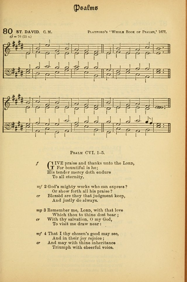 The Presbyterian Book of Praise: approved and commended by the General Assembly of the Presbyterian Church in Canada; With tunes; Part I. Selections from the Psalter. Part II. The Hymnal, rev, and en. page 79