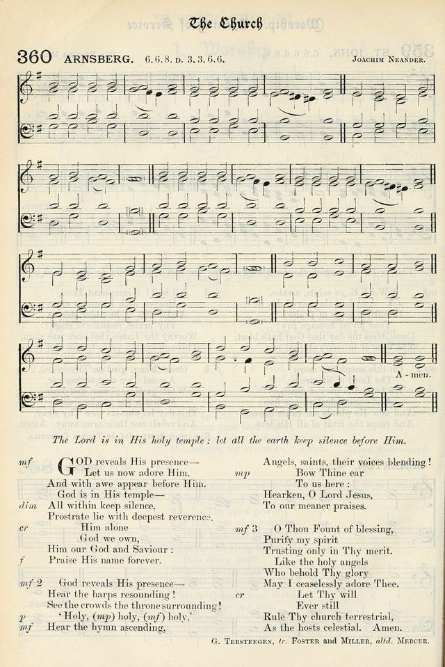 The Presbyterian Book of Praise: approved and commended by the General Assembly of the Presbyterian Church in Canada, with Tunes page 456