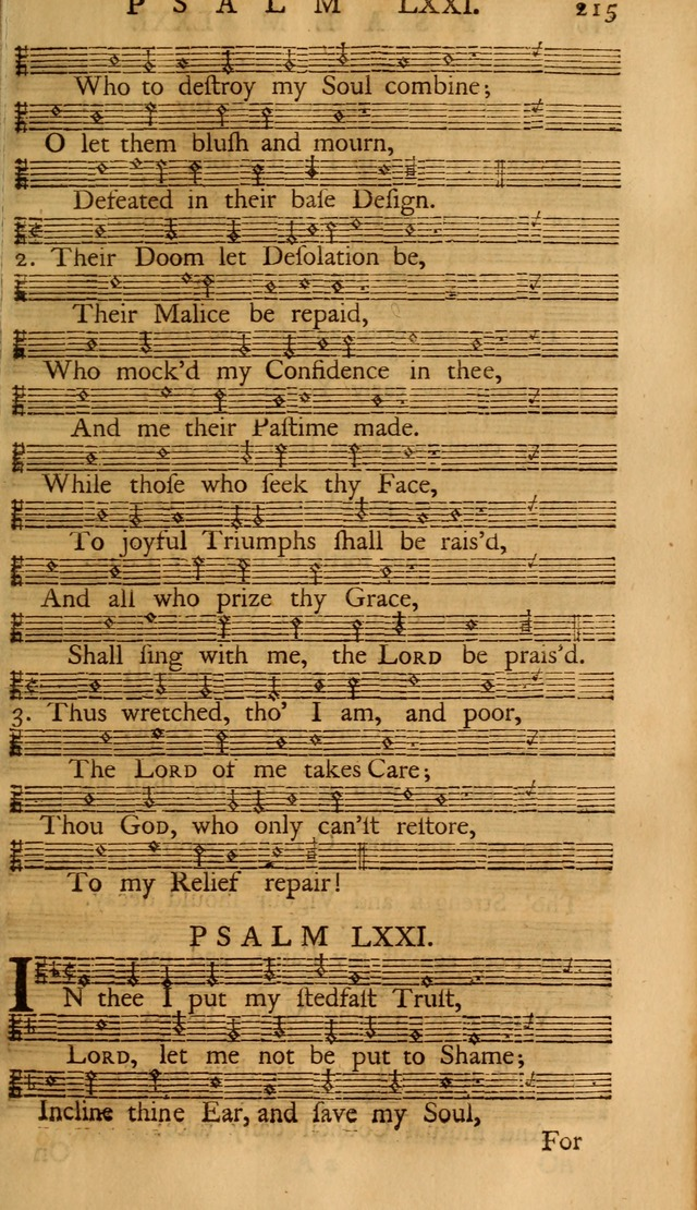 The Psalms Of David With The Ten Commandments Creed Lord S Prayer