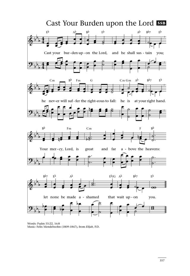 Lyric i will call upon the lord lyrics : Cast Thy Burden upon the Lord | Hymnary.org