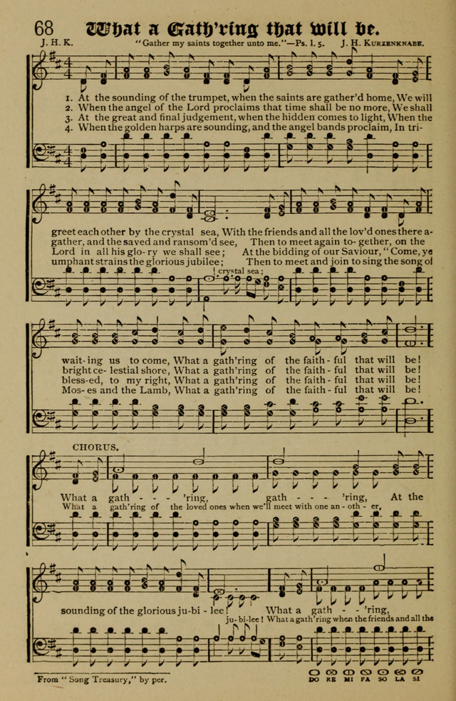 Precious Hymns for Times of Refreshing and Revival 68  At
